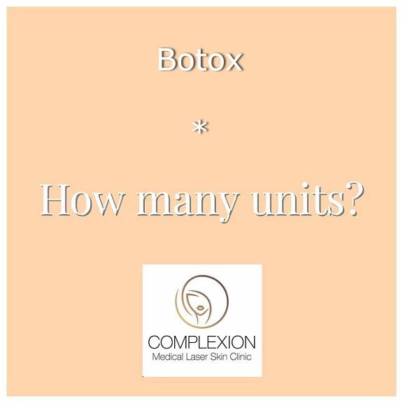 Botox – How Many Units Should I Take?