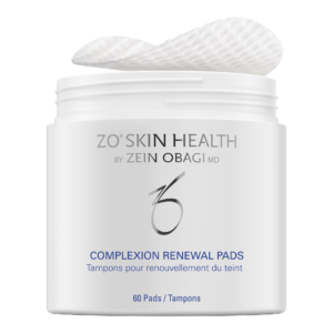 Case of complexion renewal pads